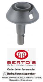 411106827 - Branderkop C voor branderdeksel ø 82mm - 3,5kW BERTOS