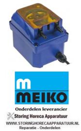 1223.612.47 - Doseerapparaat SEKO toerentalregeling 1-7l/h 230 VAC wasmiddel slang ø 6mm slangtype I MEIKO