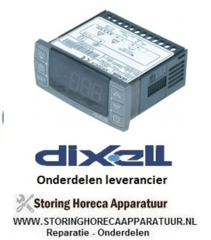 381378000 - Thermostaat elektronische regelaar DIXELL XR20CX-5N0C1 inbouwmaat 71x29mm 230V spanning AC NTC/PTC