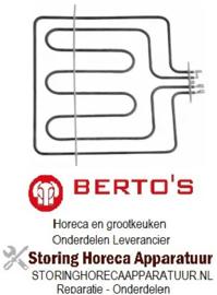 423416041 - Verwarmingselement 2600W 230V voor Bertos oven
