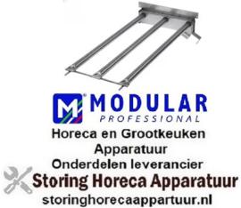 177107880 - Staafbrander 3 rijen L 450mm B 245mm ø 25mm voor grill MODULAR
