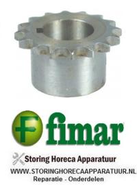241SL0094 - Kettingtandwiel voor deegmenger   FIMAR 25-38 S-C-F