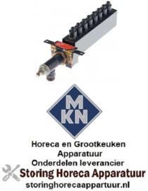 513105924 - Staafbrander 8-vlammig voor apparatuur MKN