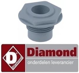 575513161 - Wasarmlager inbouwpositie boven voor vaatwasser kapmodel DIAMOND 015/25D