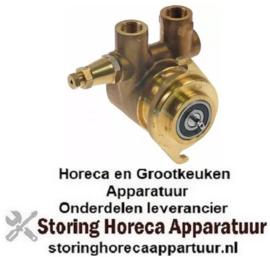 "815499130- Drukverhogings pompkop L 71mm 150l/h aansluiting 3/8"" GAS as ø 3,5x7,5mm"