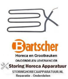 045416859 - Verwarmingselement 900W 230V contactgrill BARTSCHER