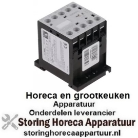 667380704 - Relais AC1 20A 230VAC (AC3/400V) 9A/4kW hoofdcontact 3NO hulpcontact 1NC
