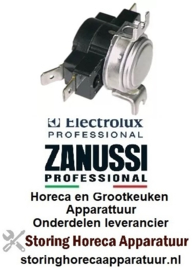 123390101 - Clixonthermostaat LA 38mm uitschakeltemp. 53°C 1CO 1-polig 16A Electrolux, Zanussi