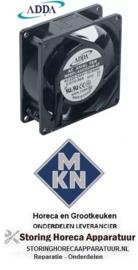 041601130- Axiaalventilator 230VAC 50/60Hz 13/14W voor MKN