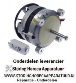 30319144 - Ventilatormotor 230V fasen 1 50Hz 0,25kW 2600U/min