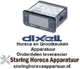 520378753 - Elektronische regelaar DIXELL inbouwmaat 71x29mm 230V spanning AC NTC relaisuitgang 3