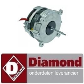 193.564.039.14 - Ventilatormotor hete lucht oven DIAMOND CGE611-NP