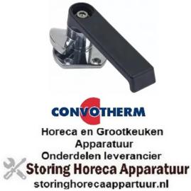 716690500 - Hendelsluiting rechts L 185mm H 66mm greepmateriaal kunststof voor oven CONVOTHERM