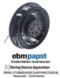 883.40601.697 - Ventilatormotor 230V spanning AC 50Hz D1 ø 138mm EBM PAPST