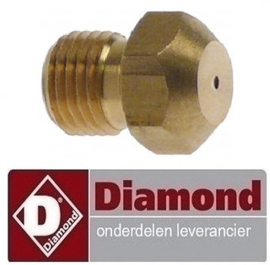 218100625 - Gasinspuiter 6 KW ( PROPAAN GAS ) DIAMOND G77/6F11T-N