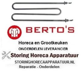194415902 - Verwarmingselement 2510 Watt - 230 Volt voor pastakoker BERTOS