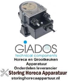 604361931 - Doseerpomp vloeibaar vaatwasmiddel GIADOS frequentieregeling 3l/h 230VAC wasmiddel slang ø 4x6mm slang Santoprene