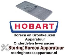 172517586 - Vlakfilter H 43mm L 525mm B 220mm voor vaatwasser HOBART