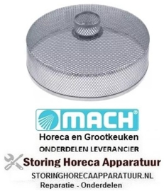 901517722 - Filter ø 193mm H 84mm RVS gat ø 37mm MACH