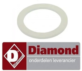 53113007 - Pakking kunststof afvoerventiel ijsblokjes machine DIAMOND ICE25