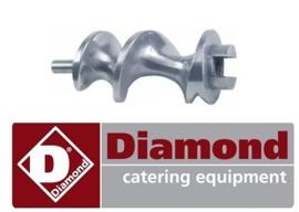 021F2041 - Worm voor gehaktmolen DIAMOND TS8
