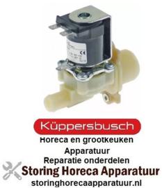 344370002- Magneetventiel enkel recht 230VAC voor apparatuur KUPPERBUSCH