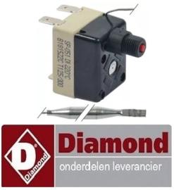 460376110- Maximaalthermostaat uitschakeltemp. 220°C MIKA DIAMOND