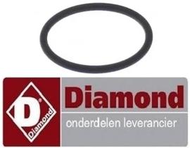 232456081 - O-Ring voor overlooppijp vaatwasser DIAMOND