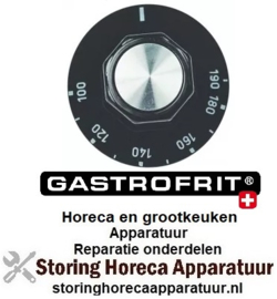 486110434 - Knop thermostaat t.max. 190°C Gastrofrit