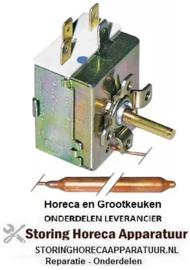 156390006 - Thermostaat t.max. 86°C instelbereik 0-86°C 1-polig 1CO 16A voeler ø 6,5mm voeler L 95mm