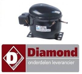 12612128698 - Compressor R600a voor koelkast DIAMOND