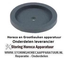 162698264 - Slijpsteen ø 50mm dikte 9mm boring ø 6mm korreling fijn met fase, zonder naaf