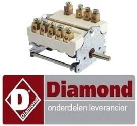 194RTCU800151 - Nokkenschakelaar 7 schakelstanden voor oven DIAMOND