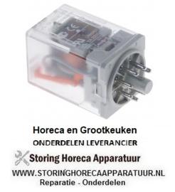 131380134 - Vermogensrelais Italiana Relè 230VAC 10A 2CO aansluiting steekaansluiting rond 8-polig