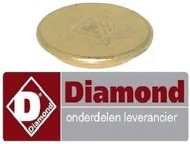 128.672.044.00 - Branderdeksel ø 61mm voor gasfornuis DIAMOND G65/T2BFA11