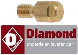 199RTCU700389 - Waakvlaminspuiter propaangas voor gasfornuis DIAMOND