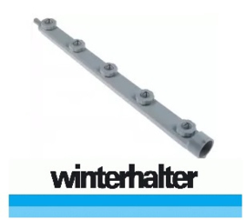 6035.020.78 - Wasarm L 470mm sproeiers 5 inbouwpositie rechts - links inbouw ø 35mm - Winterhalter