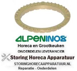 161105011 - Branderring voor branderdeksel ø 100mm gasfornuis ALPENNINOX