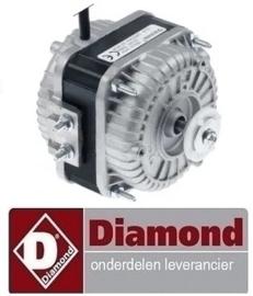 7391MTRM001 - VENTILATOR MOTOR VOOR CONDENSOR 20 WATT - 230 V - 50 Hz DIAMOND AP50-PED/A