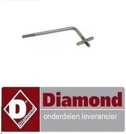 070.611.312.00 - STEUN VOOR HANDVAT VAN LAVASTEENROOSTER DIAMOND G65/GPL7T