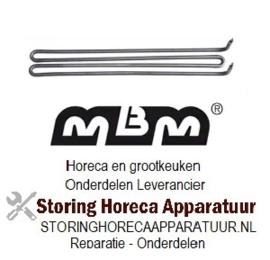 001416544 - Verwarmingselement 1250W 240V voor MBM