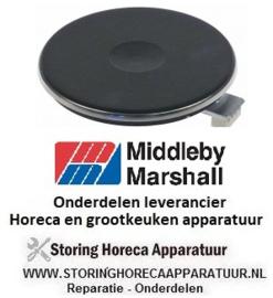 696490221 - Kookplaat ø 220mm 2000W 480V Middleby-Marshall