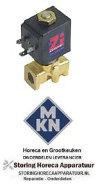 966370175 - Magneetventiel 2-weg 230VAC voor MKN