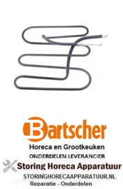 789416845 - Verwarmingselement 1100W 230V contactgrill BARTSCHER