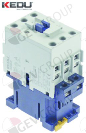 381211 - Relais AC1 65A 240VAC (AC3/400V) 30A/15kW hoofdcontact 3NO aansluiting schroefaansluiting