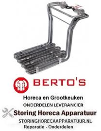 163415257 - Verwarmingselement 6000 Watt 230/400 Volt BERTOS