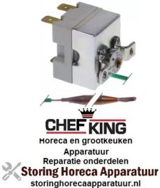 465390465 - Boiler thermostaat t.max. 90°C instelbereik 0-90°C voor vaatwasser  CHEFKING