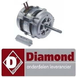 178.664.000.00 - Ventilatormotor voor oven fornuis DIAMOND E65/4PFV7