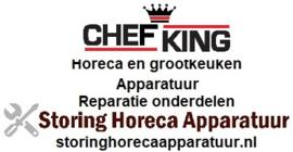 CHEF-KING VAATWASSER HORECA EN GROOTKEUKEN APPARATUUR REPARATIE ONDERDELEN