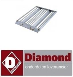 078.811.212.00 - ROOSTER VOOR LAVASTEEN DIAMOND GRILL G65/GPL4T